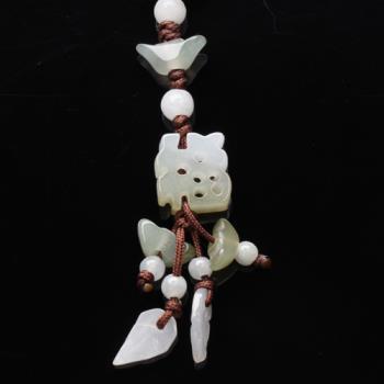 【雅紅珠寶】福氣到冰種緬甸玉墜子(吊飾/項鍊)