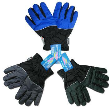 榭克絲 SOCKS, 3M男性抗寒防風撥水止滑輕薄手套(寶藍/黑色、墨綠/黑色、灰/黑色)