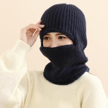 【Verona】韓款冬季男女款機車護頸頭套保暖帽