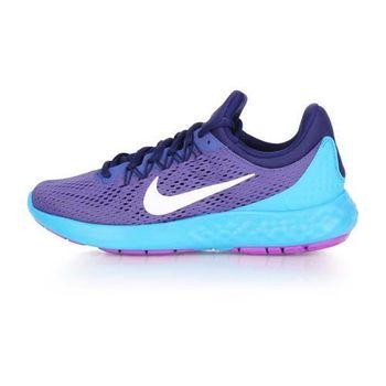 【NIKE】WMNS LUNAR SKYELUX 女慢跑鞋- 避震 輕量 路跑 藍紫白