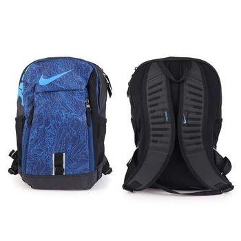 【NIKE】後背包-雙肩包 旅行 可攜17吋筆電 寶藍黑