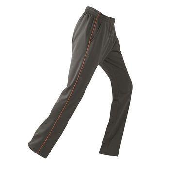 【Ratops 瑞多仕】中性刷毛保暖長褲S-3L『暗綠/桔』DB5936
