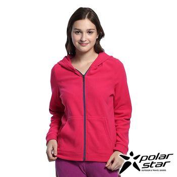 Polarstar  女刷毛保暖外套『桃粉紅』MIT│ 排汗│透氣│保暖│抗靜電 P16206