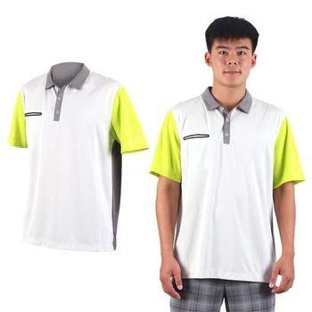 【NIKE】GOLF 男快速排汗輕質短袖針織POLO衫- 高爾夫球 立領 軍綠灰