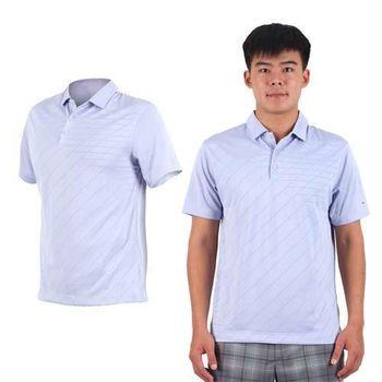 【NIKE】GOLF 男排汗短袖針織衫- 高爾夫球 POLO衫 立領 T恤 紫