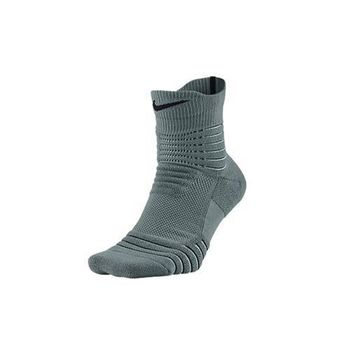 【NIKE】BASKETBALL菁英籃球襪-中筒 襪子 綠黑