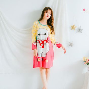 Wonderland LN605 帥氣Hero居家休閒洋裝(湖水綠)