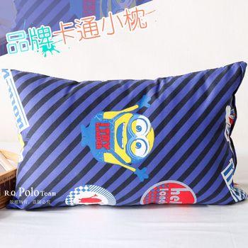 【R.Q.POLO】小小兵 品牌卡通小童枕/兒童枕/枕頭(含枕心)