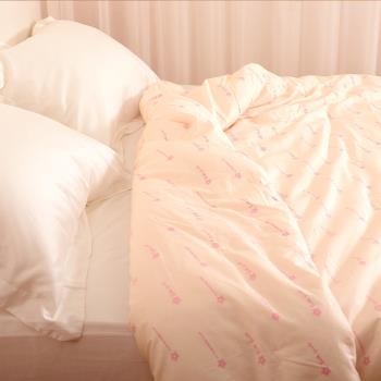 5台斤 冬季 100%純手工天然長纖蠶絲被 3kg 6x7尺 頂級台灣手工 附保證書 貼身柔暖《田中保暖試驗所》