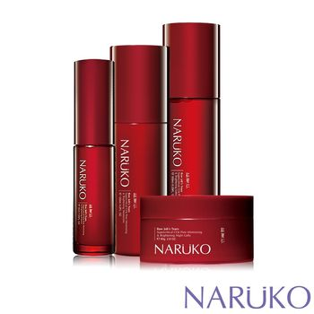NARUKO牛爾 紅薏仁瞬白緊緻基礎保養4件組
