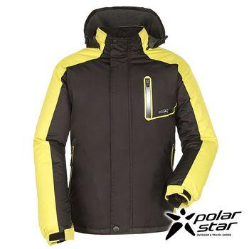 PolarStar 中性防風保暖外套『黑』戶外│休閒│登山│露營│機能衣 P16239