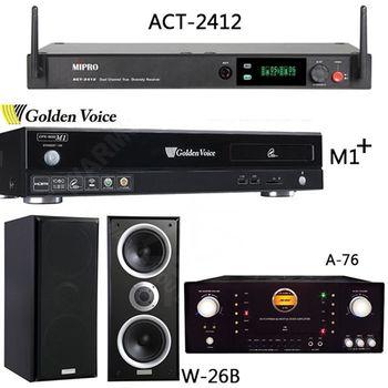 Golden Voice 電腦伴唱機 金嗓公司出品 CPX-900 M1++ACT-2412+A-76+W-26B