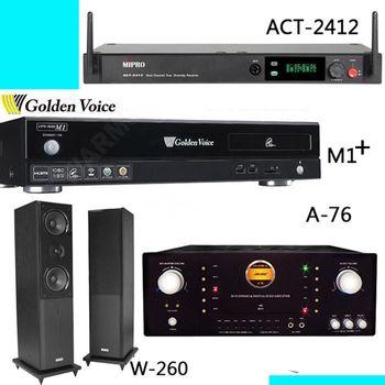 Golden Voice 電腦伴唱機 金嗓公司出品 CPX-900 M1++ACT-2412+A-76+W-260