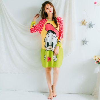 Wonderland LN6011 魔幻甜心居家休閒洋裝(綠)