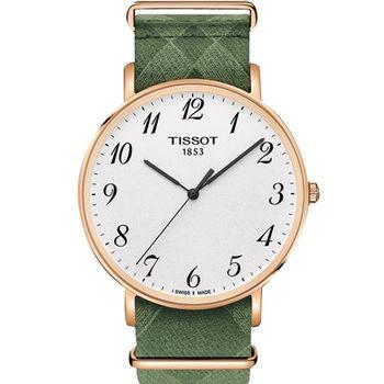 TISSOT 天梭 Everytime 經典雋永腕錶-42mm T1096103803200
