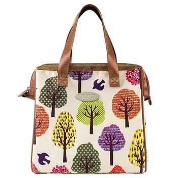 卡蘿保溫保冷餐袋(L)-森林橘