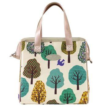 卡蘿保溫保冷餐袋(L)-森林綠