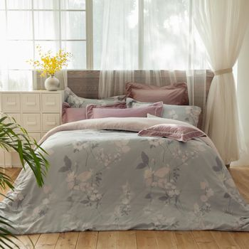 BBL 靜謐光年100%萊賽爾纖維(天絲®).印花加大兩用被床包組