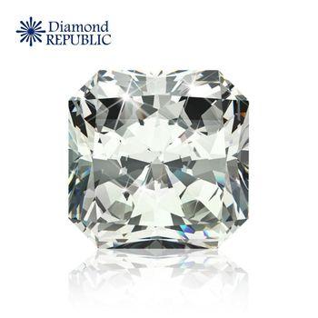 【鑽石共和國】GIA正方型裸鑽GIA 0.32 克拉 S-T / SI2 帶淡褐色