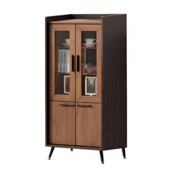 Bernice-伯倫2尺四門展示櫃/收納櫃