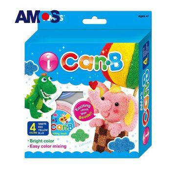 【BabyTiger虎兒寶】韓國 AMOS 4色 25克 大象主題泡泡黏土