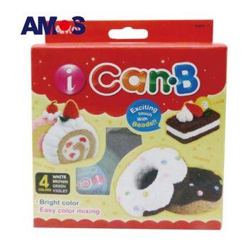 【BabyTiger虎兒寶】韓國 AMOS 4色 25克 甜甜圈主題泡泡黏土