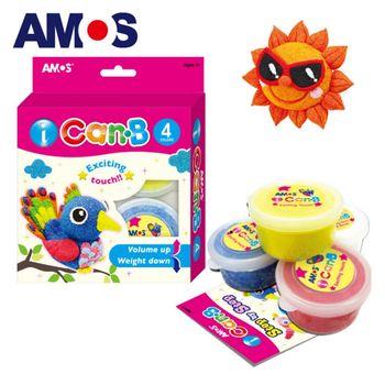 【BabyTiger虎兒寶】韓國 AMOS 4色 25克 小鳥 主題泡泡黏土