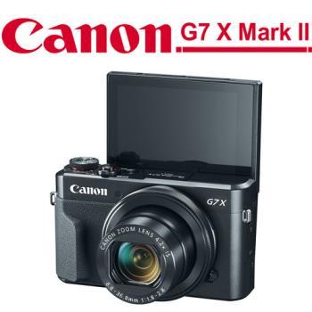 【64G包組】Canon G7 X Mark II (G7X MK2) (公司貨)