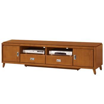 Bernice-安德倫6尺實木二門二抽電視櫃/長櫃