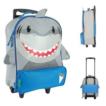 【Stephen Joseph】童趣造型拉桿包-鯊魚