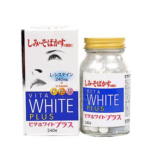 【日本皇漢堂】L-半胱胺酸+高單位維他命C錠(240錠/瓶)