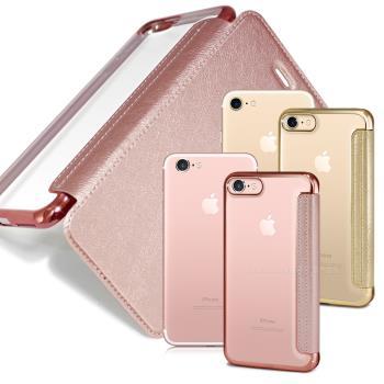 COLORS Apple iPhone 7 / i7 4.7吋 時尚美背保護皮套