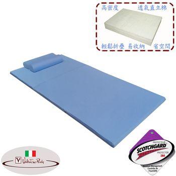 【Valentino Rudy】單人吸濕排汗日式床墊 + 1記憶枕特惠組