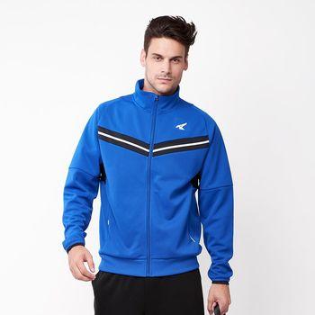 【美國 AIRWALK】簡約時尚 V型剪接高領外套-男 -共二色
