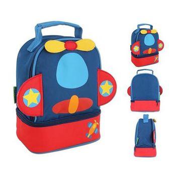 【Stephen Joseph】童趣造型保溫餐袋-飛機