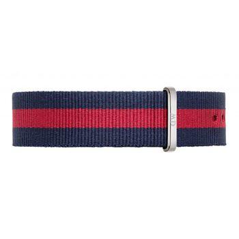 DW Daniel Wellington 藍紅帆布錶帶/20mm(0401DW)