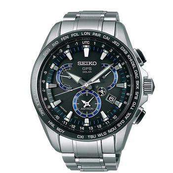 【SEIKO 精工】ASTRON系列 尊爵GPS衛星定位太陽能鈦金屬腕錶(8X53-0AS0D/SSE101J1)