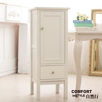CiS自然行實木家具 收納櫃-初雪白瓶罐收納櫃(純粹白)