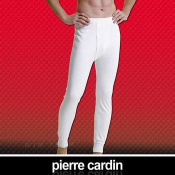 【Pierre Cardin 皮爾卡登】排汗厚暖棉長褲-台灣製造