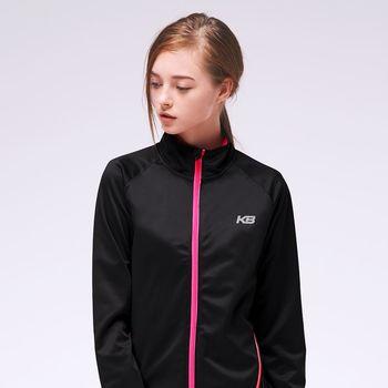 【KENBOO】城市反光系列立領風衣外套-女-黑