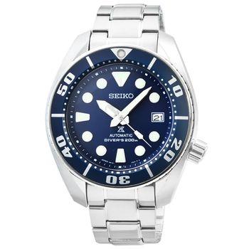 SEIKO精工PROSPEX SCUBA 機械鋼帶腕錶-藍 / SBDC033