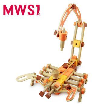 【MWSJ】木製百變組合古代機械積木