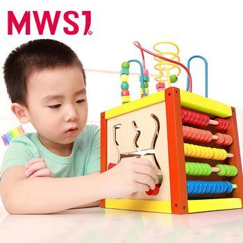 【MWSJ】木製多功能智力盒