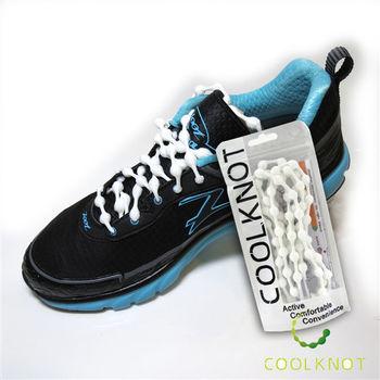 COOL KNOT 豆豆 彈性 免綁鞋帶 (珍珠白) CK15-04