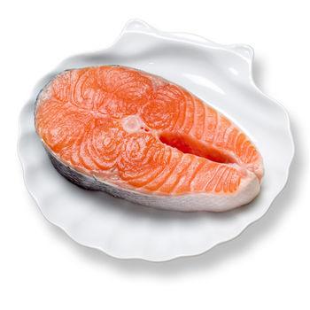買一組送一組【寶島福利站】大西洋鱒鮭切片5片(230g/片)送鱒鮭切片5片共10片