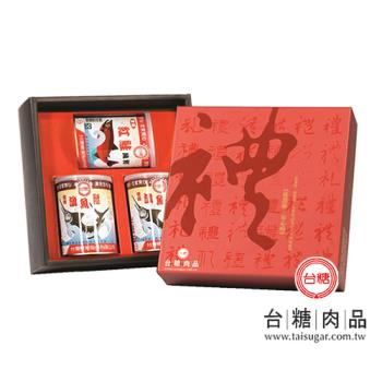 台糖 魚鬆禮盒6盒(鮭魚鬆X1+旗魚鬆X2)