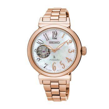 【SEIKO 精工】LUKIA 林依晨廣告款美好時光經典機械女腕錶 (4R38-01E0K/SSA836J1)