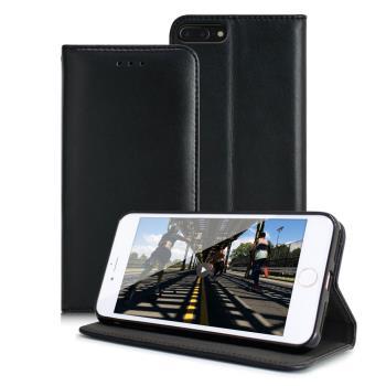 X_mart iphone 7 plus 5.5吋 精美小羊皮真皮隱扣皮套