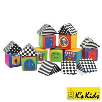 【Ks Kids】肢體發展系列-寶寶感官積木組