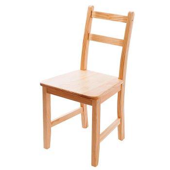 CiS自然行實木家具- Reykjavik北歐木作椅(溫暖柚木色)原木椅墊